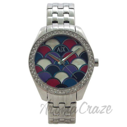 Picture of AX5526 Stainless Steel Bracelet Watch by Armani Exchange for Women - 1 Pc Watch