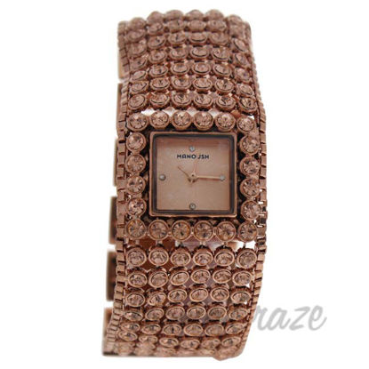Picture of MSHMARG Marilyn - Rose Gold Stainless Steel Bracelet Watch by Manoush for Women - 1 Pc Watch