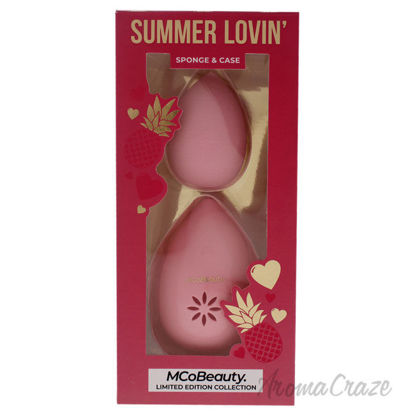 Picture of Summer Lovin Sponge and Case by MCoBeauty for Women - 2 Pc Sponge and Case (Limited Edition)