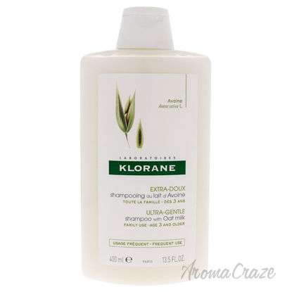 Picture of Ultra Gentle Shampoo with Oat Milk by Klorane for Women - 13.5 oz Shampoo