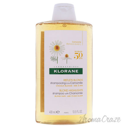 Picture of Blond Highlights Shampoo with Chamomile by Klorane for Women - 13.5 oz Shampoo