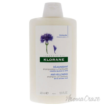 Picture of Anti-Yellowing Shampoo With Centaury by Klorane for Women - 13.5 oz Shampoo