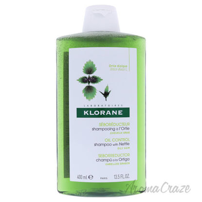 Picture of Oil Control Shampoo with Nettle by Klorane for Women - 13.5 oz Shampoo