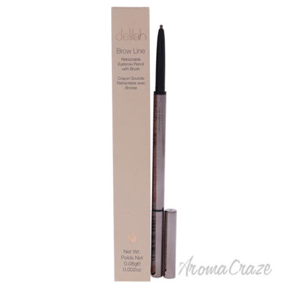 Picture of Brow Line Retractable Eyebrow Pencil With Brush - Ash by Delilah for Women - 0.002 oz Eyebrow