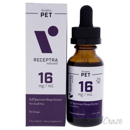 Picture of Receptra Pet 16mg Drops by Receptra Naturals for Unisex - 1 oz Pet Drops