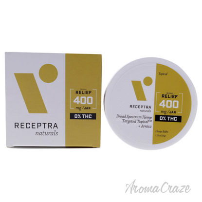 Picture of Serious Relief 400mg Or percent THC Drops Balm by Receptra Naturals for Unisex - 1.25 oz Balm