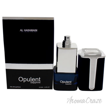 Picture of Opulent Sapphire by Al Haramain for Unisex - 3.33 oz EDP Spray