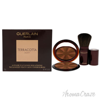 Picture of Terracotta Light The Healthy Glow Powder and Brush - 03 Natural Warm by Guerlain for Women - 0.30 oz Powder