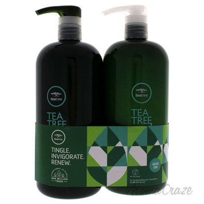 Picture of Tea Tree Special Kit by Paul Mitchell for Unisex - 2 Pc Kit 33.8 oz Shampoo, 33.8 oz Conditioner