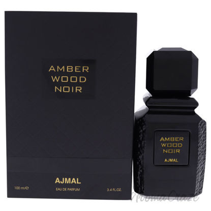 Picture of Amber Wood Noir by Ajmal for Unisex - 3.4 oz EDP Spray