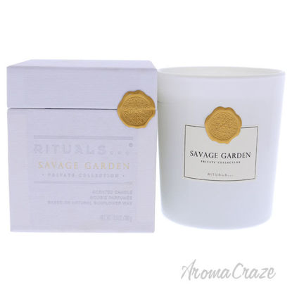 Picture of Savage Garden Scented Candle by Rituals for Unisex - 12.6 oz Candle