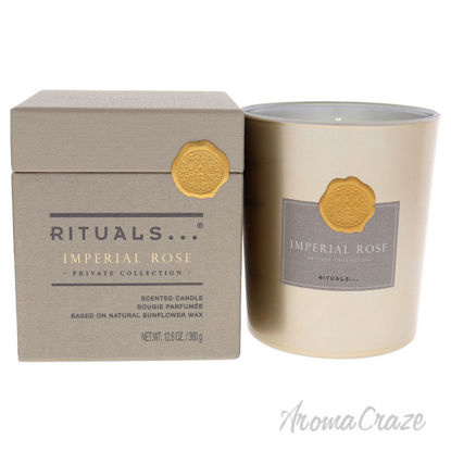 Picture of Imperial Rose Scented Candle by Rituals for Unisex - 12.6 oz Candle