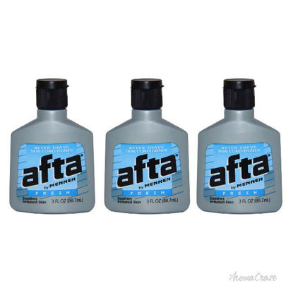 Picture of Afta After Shave Skin Conditioner Fresh by Mennen for Men - 3 oz After Shave Conditioner - Pack of 3
