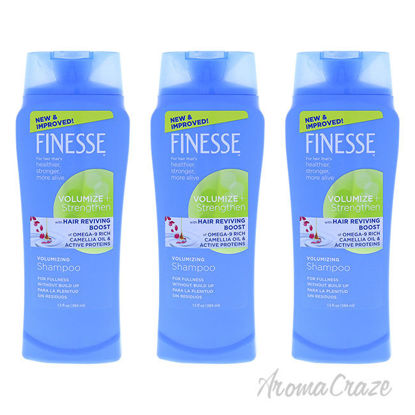 Picture of Self Adjusting Volumizing Shampoo by Finesse for Unisex - 13 oz Shampoo - Pack of 3
