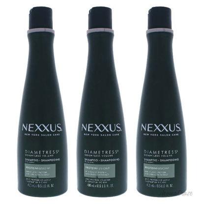 Picture of Diametress Luscious Volume Shampoo by Nexxus for Unisex - 13.5 oz Shampoo - Pack of 3