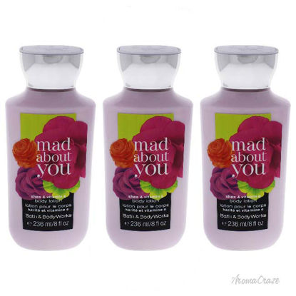 Picture of Mad About You by Bath and Body Works for Women - 8 oz Body Lotion - Pack of 3