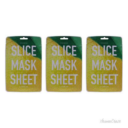 Picture of Slice Sheet Mask - Lemon by Kocostar for Unisex - 1 Pc Mask - Pack of 3
