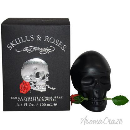 Picture of Ed Hardy Skulls & Roses by Christian Audigier for Men - 3.4 oz EDT Spray