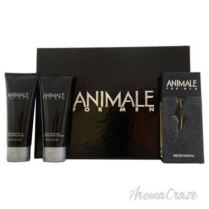 Picture of Animale by Animale for Men - 3 Pc Gift Set 3.4oz EDT Spray, 3.4oz After Shave Balm, 3.4oz Hair and Body Wash