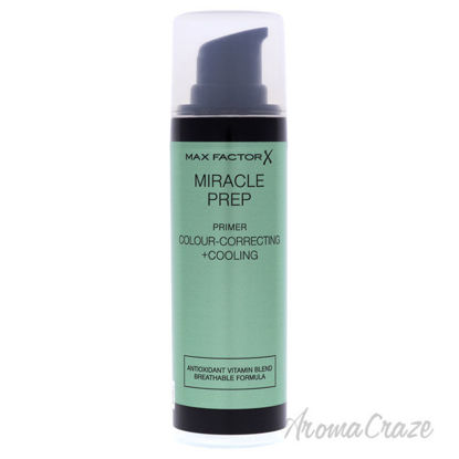 Picture of Miracle Prep Colour Correcting and Cooling Primer by Max Factor for Women - 0.01 oz Primer