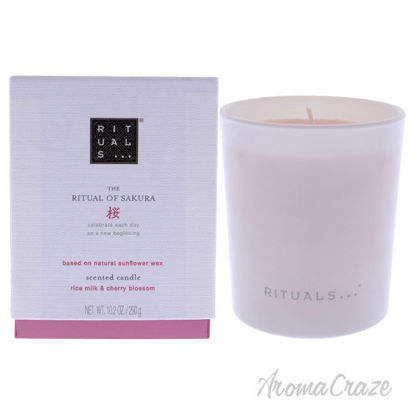 Picture of The Ritual of Sakura Scented Candle by Rituals for Unisex - 10.2 oz Candle