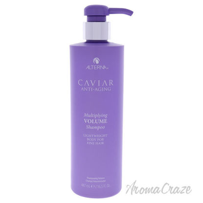 Picture of Caviar Anti-Aging Multiplying Volume Shampoo by Alterna for Unisex - 16.5 oz Shampoo