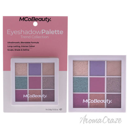 Eyeshadow Palette - Trend Collection by MCoBeauty for Women - 0.02 oz Eyeshadow