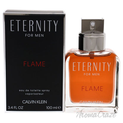 Picture of Eternity Flame by Calvin Klein for Men 3.4 oz EDT Spray