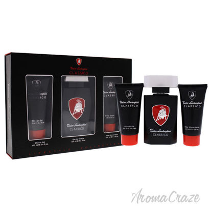 Picture of Classico by Tonino Lamborghini for Men 3 Pc Gift Set 4.2oz EDT Spray, 3.4oz Shower Gel, 3.4oz After Shave Balm