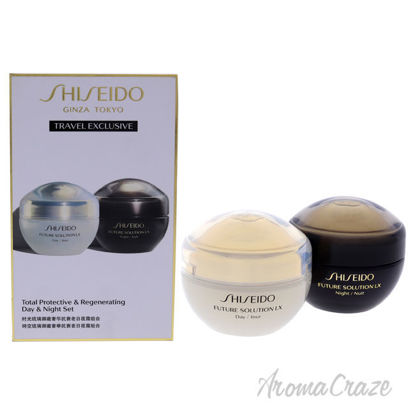 Picture of Total Protective and Regenerating Day and Night Set by Shiseido for Unisex 2 x 1.7 oz Cream