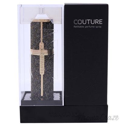Picture of Couture Swarovski Perfume Atomizer Dorado by Travalo for Unisex 0.17 oz Refillable Spray