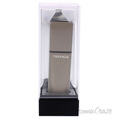 Picture of Obscura Perfume Atomizer Grey by Travalo for Unisex 0.17 oz Refillable Spray