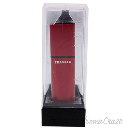 Picture of Obscura Perfume Atomizer Red by Travalo for Unisex 0.17 oz Refillable Spray