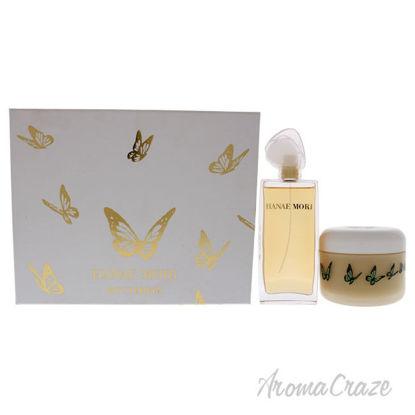 Picture of Hanae Mori Butterfly by Hanae Mori for Women 2 Pc Gift Set 3.4oz EDP Spray, 8.5oz Body Lotion