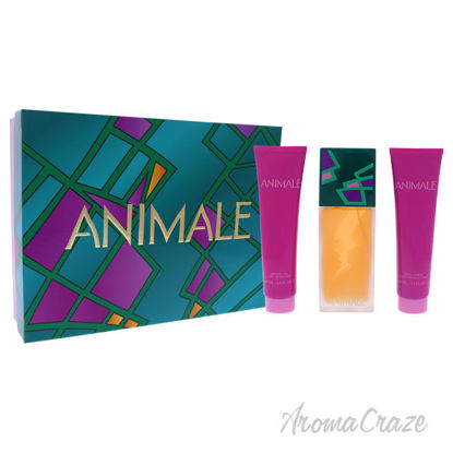 Picture of Animale by Animale for Women 3 Pc Gift Set 3.4oz EDP Spray, 3.4oz Body Lotion, 3.4oz Shower Gel