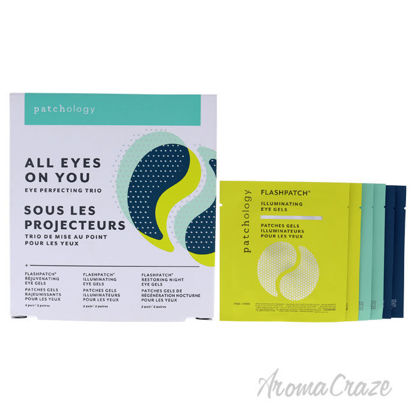 Picture of All Eyes On You Eye Perfecting Trio by Patchology for Unisex 3 Pc Mask