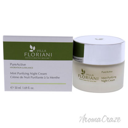 Picture of PureActive Purifying Night Cream Mint by Villa Floriani for Unisex 1.69 oz Cream