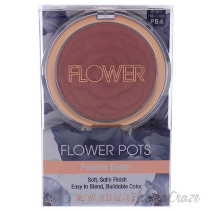 Picture of Flower Pots Powder Blush Warm Hibiscus by Flower Beauty for Women 0.21 oz Blush
