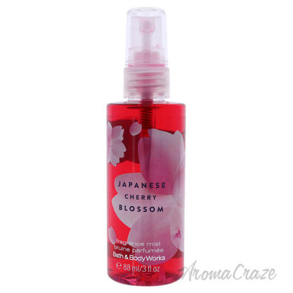 Picture of Japanese Cherry Blossom by Bath and Body Works for Unisex 3 oz Fragrance Mist
