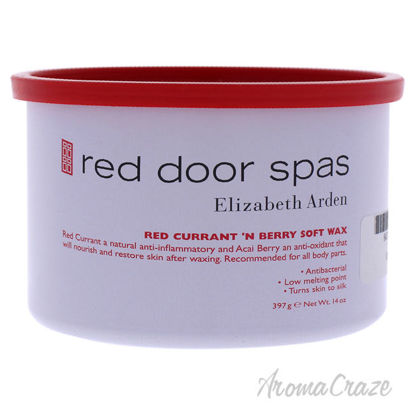 Picture of Red Door Spa Red Currant Soft Wax Berry by Elizabeth Arden for Women 14 oz Wax