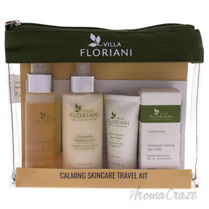Picture of Calming Skincare Travel Kit by Villa Floriani for Women 6 Pc
