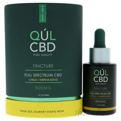 Picture of Tincture Full Spectrum 800mg CBD Citrus by Kul CBD for Unisex 1 oz Treatment