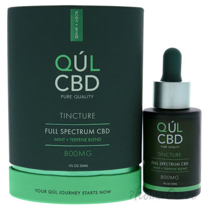 Picture of Tincture Full Spectrum 800mg CBD Mint by Kul CBD for Unisex 1 oz Treatment