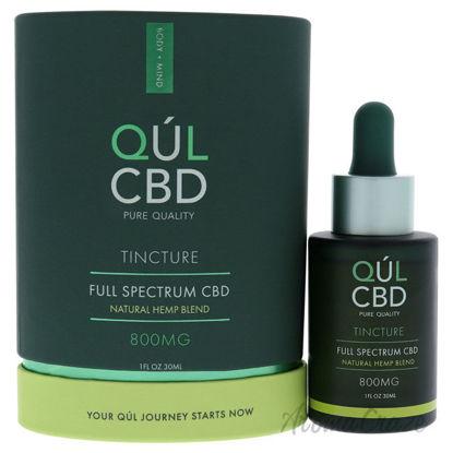 Picture of Tincture Full Spectrum 800mg CBD Natural Hem Blend by Kul CBD for Unisex 1 oz Drops