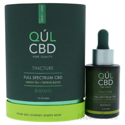 Picture of Tincture Full Spectrum 800mg CBD Green Tea by Kul CBD for Unisex 1 oz Treatment