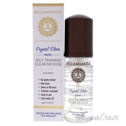 Picture of Rapid Self Tanning Mousse Crystal Clear by Bellamianta for Women 5.07 oz Bronzer