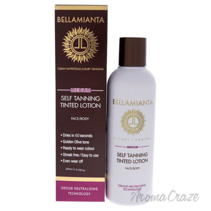 Picture of Self Tanning Tinted Lotion Medium by Bellamianta for Women 6.76 oz Bronzer