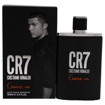 Picture of CR7 Game On by Cristiano Ronaldo for Men 3.4 oz EDT Spray