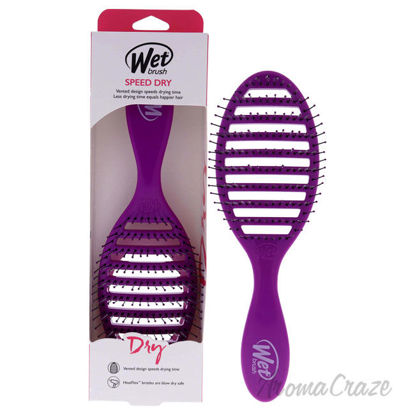 Picture of Speed Dry Brush Purple by Wet Brush for Unisex 1 Pc Hair Brush
