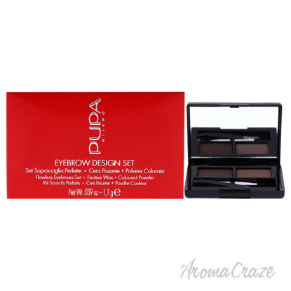 Picture of Eyebrow Design Set 002 Brown by Pupa Milano for Women 0.039 oz Eyebrow Powder